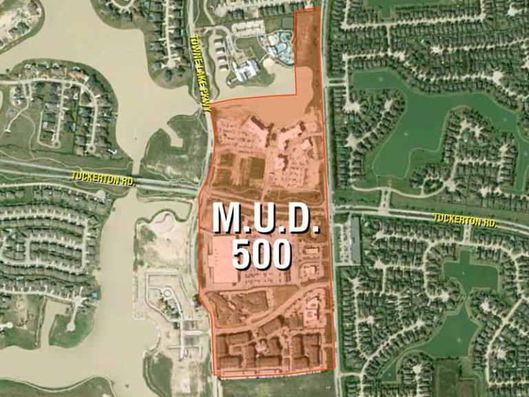 HCMUD 500 District Map